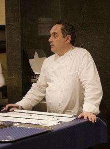 Català: Ferran Adrià a El Bulli. Deutsch: Ferr...