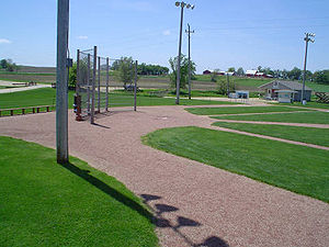 This is the baseball field featured from the 1...