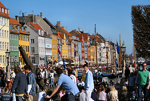 Nyhavn at spring time