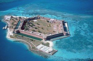 Fort Jefferson is no longer in use and is curr...