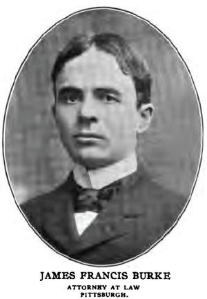 English: James Francis Burke, US Congressman, ...