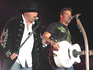 English: Montgomery Gentry in performance
