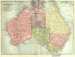 NSRW Map of Australia