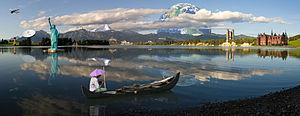 Photomontage - Composite of 16 different photo...