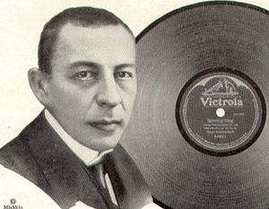 Rachmaninoff (1921 Victor advertisement)