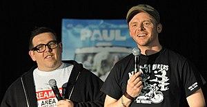 Simon Pegg and Nick Frost at Supanova 2011 Q&A...
