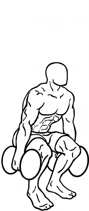 an exercise of thigh