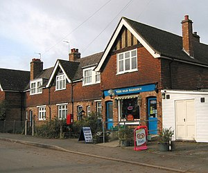 English: The local shop and Post Office, Weald