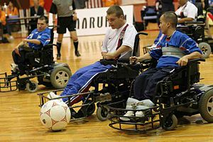 US versus France in final of 2007 FIPFA World ...