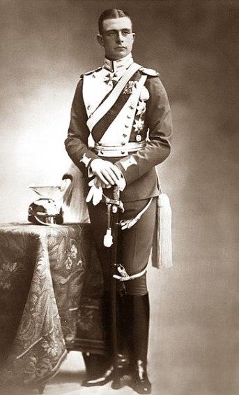 Hereditary Grand Duke Adolf Friedrich, c1909. source: Wikipedia