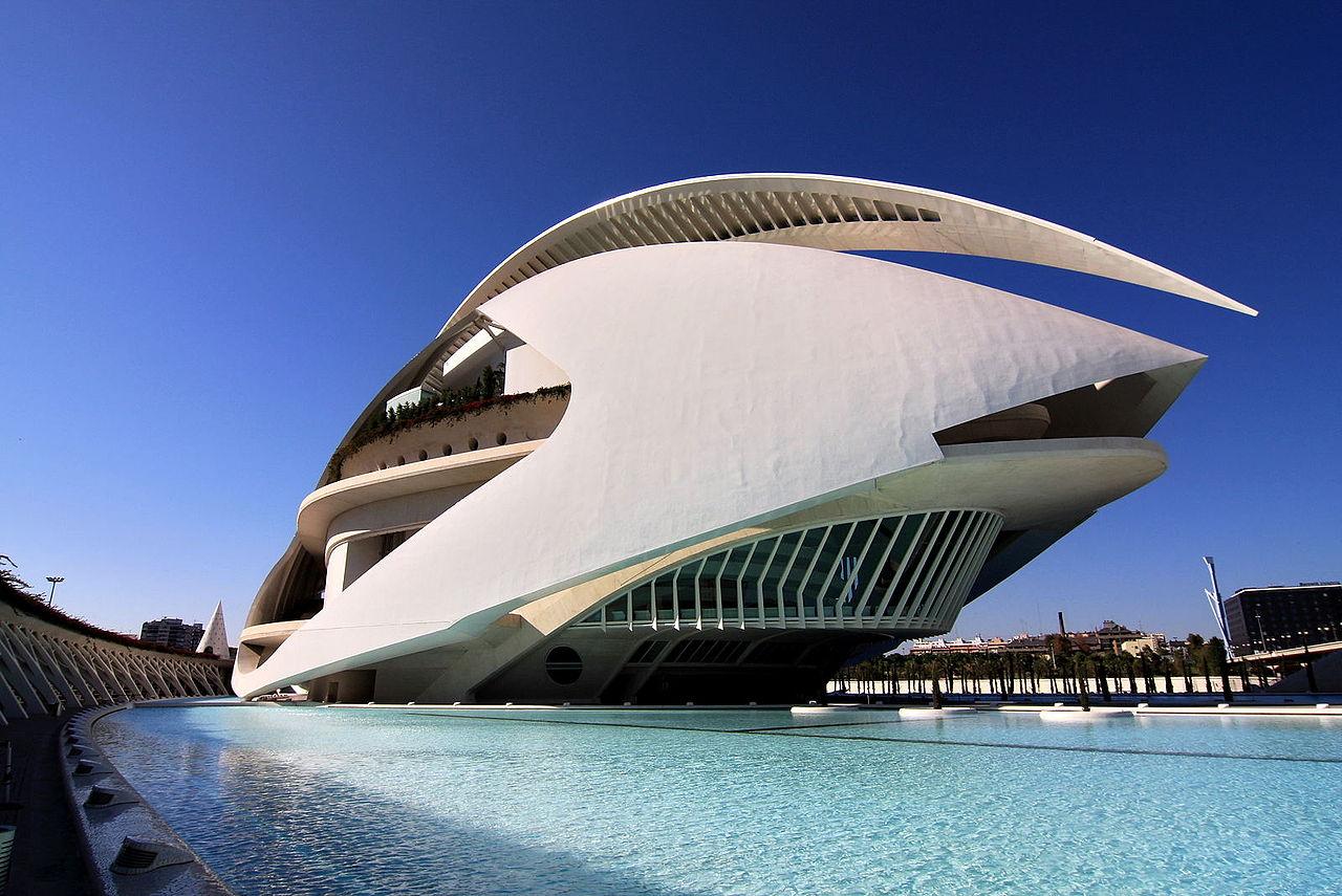 Fichier Valence Espagne Palais Des Arts