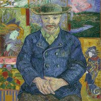 """Portrait of Père Tanguy"" by Vincent van Gogh"