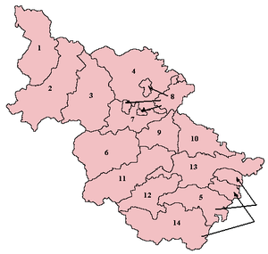 Wapentakes of the West Riding of Yorkshire