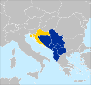 English: The Western Balkans.
