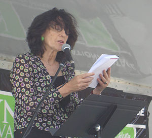 Writer Francine Prose at the 2009 Brooklyn Boo...