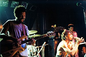 Punk rock hardcore band The Bad Brains at Nigh...