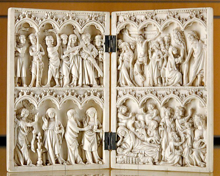 Archivo:Diptych life of Christ MBA Lyon L425.jpg