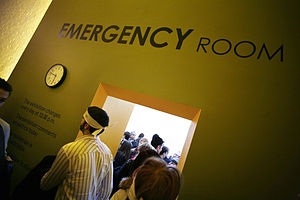 English: Emergency Room NYC