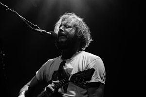 Bon Iver performing at The Fillmore