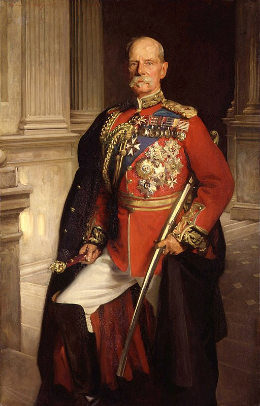 """""""Frederick Sleigh Roberts, 1st Earl Roberts"""" by John Singer Sargent"""