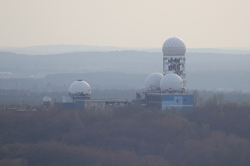 Teufelsberg, a must for urban exploration