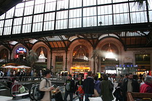 "English: TGV hall of the ""Gare de Lyon&qu..."
