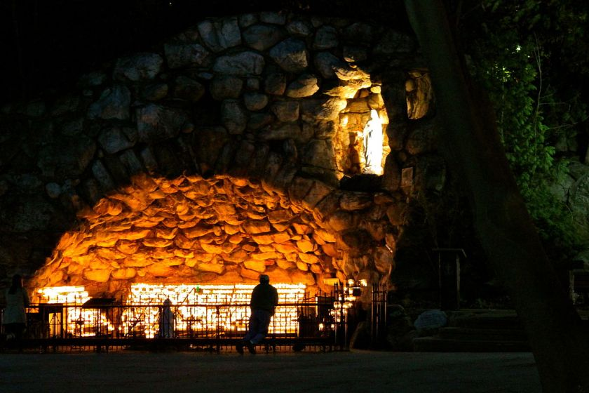 Image result for university of notre dame grotto