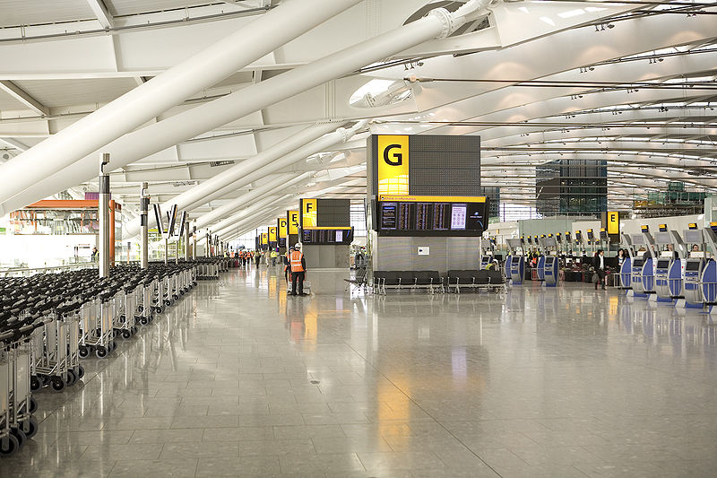 """""""Despite initial teething problems when Terminal 5 opened in 2008, it has since become a firm favourite with passengers,"""" said Edward Plaisted of Skytrax."""