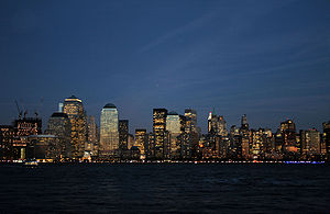 Manhattan Skyline, NY, US
