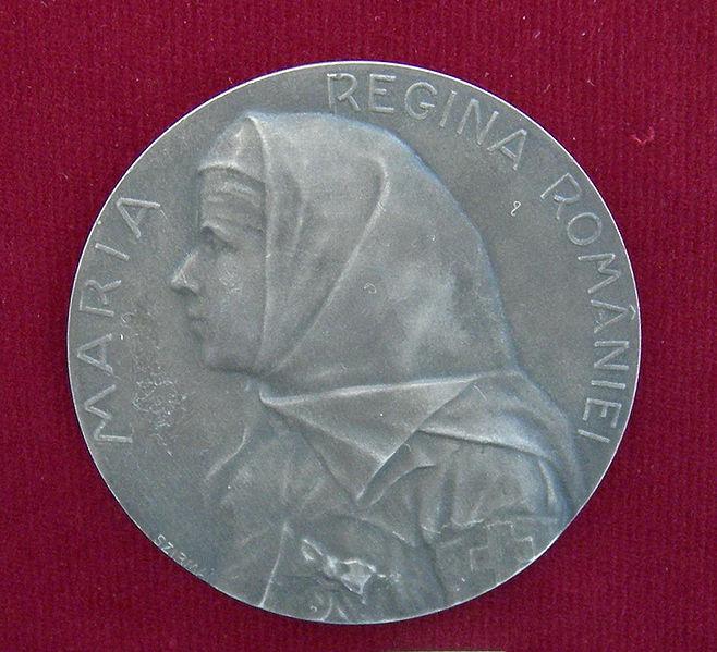 File:Medal - Marie of Romania.jpg
