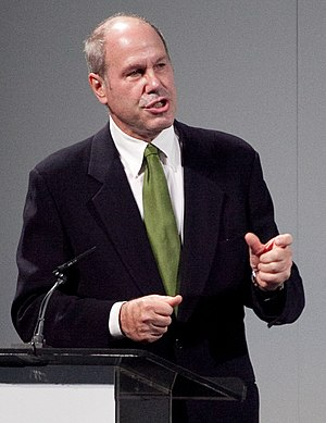 English: Michael Eisner speaking at The UP Exp...