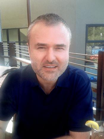 English: Nick Denton at Barney's in Berkeley