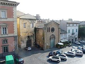 Piazza del Popolo, Orvieto, Umbria, Italia