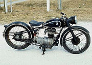 The first postwar West German BMW, an original condition 1948 250cc BMW R 24