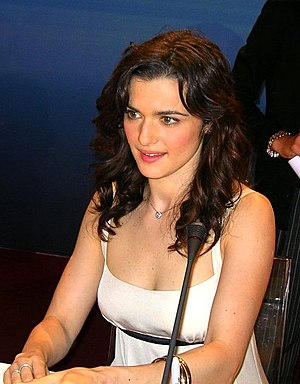 English: The British actress Rachel Weisz.