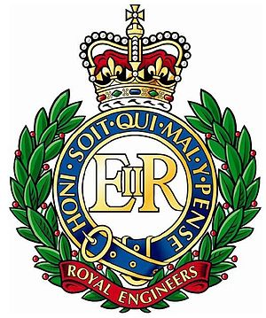 English: The colour cap badge of the Corps of ...