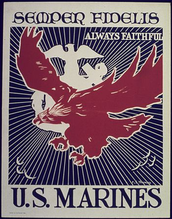 SEMPER FIDELIS - ALWAYS FAITHFUL. U.S. MARINES...