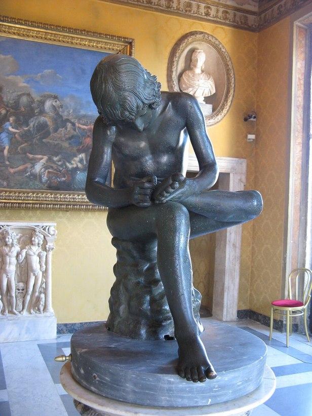 The Capitoline Spinario-Musei Capitolini