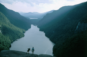 English: Lower AuSable Lake in the Adirondack ...
