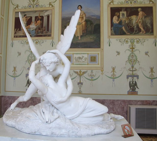 Psyche Revived by Cupid's Kiss
