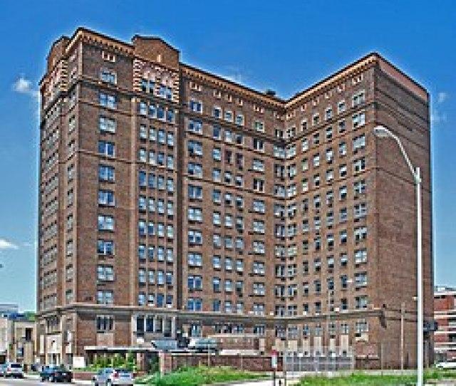 Michigan State Historic Site  C B Belcrest Apartments Detroit  Jpg