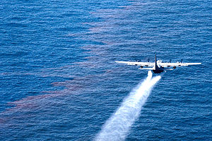 A C-130 Hercules from the Air Force Reserve Co...