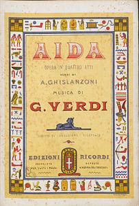 Titelblatt Des Klavierauszugs Um
