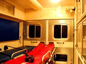 Back of an Ambulance
