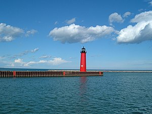 Kenosha North Pier Lighthouse Photo taken by D...