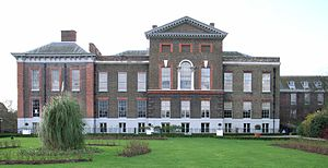 East Facade, Kensington Palace (1661-1702) by Christopher Wren / Nicholas Hawksmoor