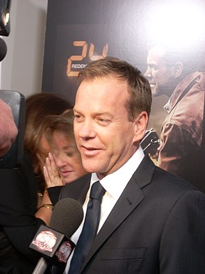 "English: Kiefer Sutherland at the ""24: Re..."