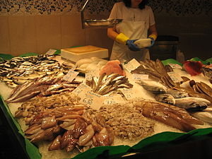 Mercat de la Boqueria, fish_&_seafood
