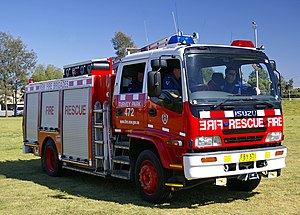 English: New South Wales Fire Brigades Pumper ...