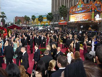 English: Red carpet at 81st Academy Awards.